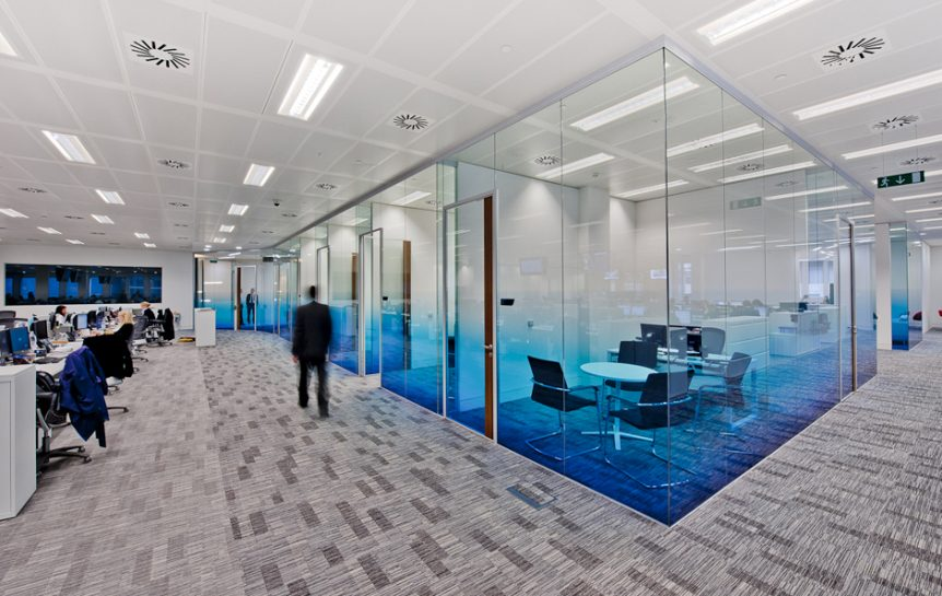 Add Style Amp Privacy To Your Office With Window Films